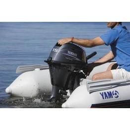 Подвесной 4-х тактный бензиновый лодочный мотор YAMAHA F15CMHS